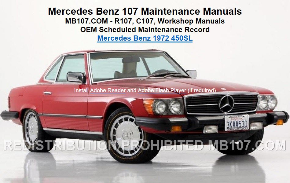 1980 mercedes 450sl wiring diagrams mercedes w123 300d
