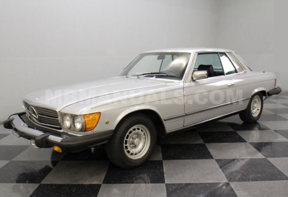 mercedes benz 280slc 107 e28 c107 technical specs manuals rh mb107 com