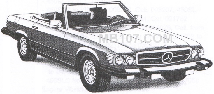 107 mercedes benz 107 sl slc roadster pdf documents, maintenance and Mercedes-Benz Relay Diagram at cos-gaming.co